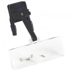 Lente clip on binoculari
