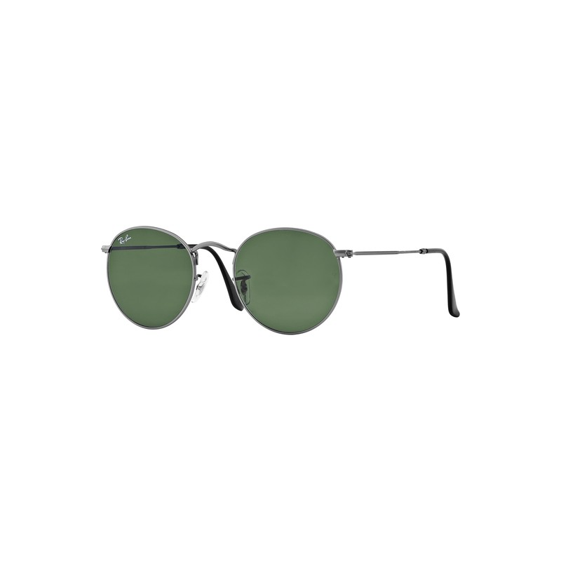 RB3447-029 MATTE GUNMETAL - CRYSTAL GREEN