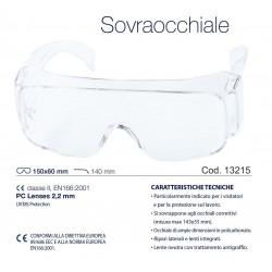 TRANSPARENT PROTECTIVE GLASSES