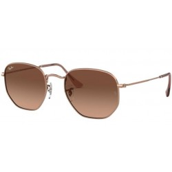 RAY-BAN HEXAGONAL METAL RB...