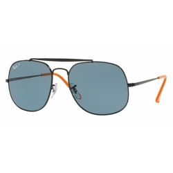 RB 3561-910752 BLACK/BLUE POLARIZED