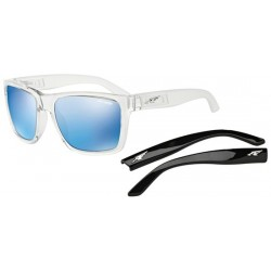 Gloss Clear/grey Blue + Black Temples (2158/55)