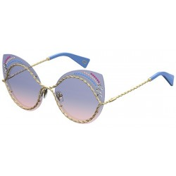 MARC JACOBS MARC 161/S/STR-BR0 (I4) BLUE PINK
