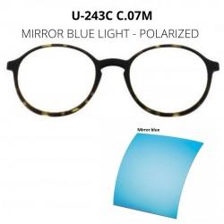 CLIP U-243 C07M MIRROR BLUE...