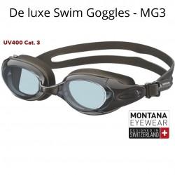 SWIMMING GLASSES BLACK - MG3